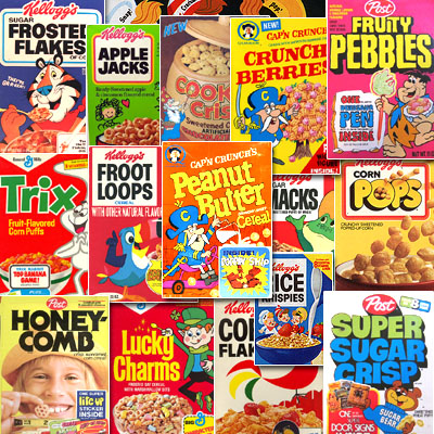 What's Your Favorite Cereal?